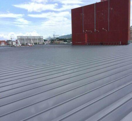 沖縄県名護市 店舗 屋根塗装 (2)