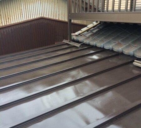 知多市 屋根塗装 (2)