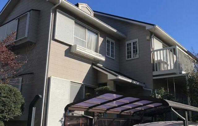 春日井市 N様邸 外壁・屋根塗装工事 (1)