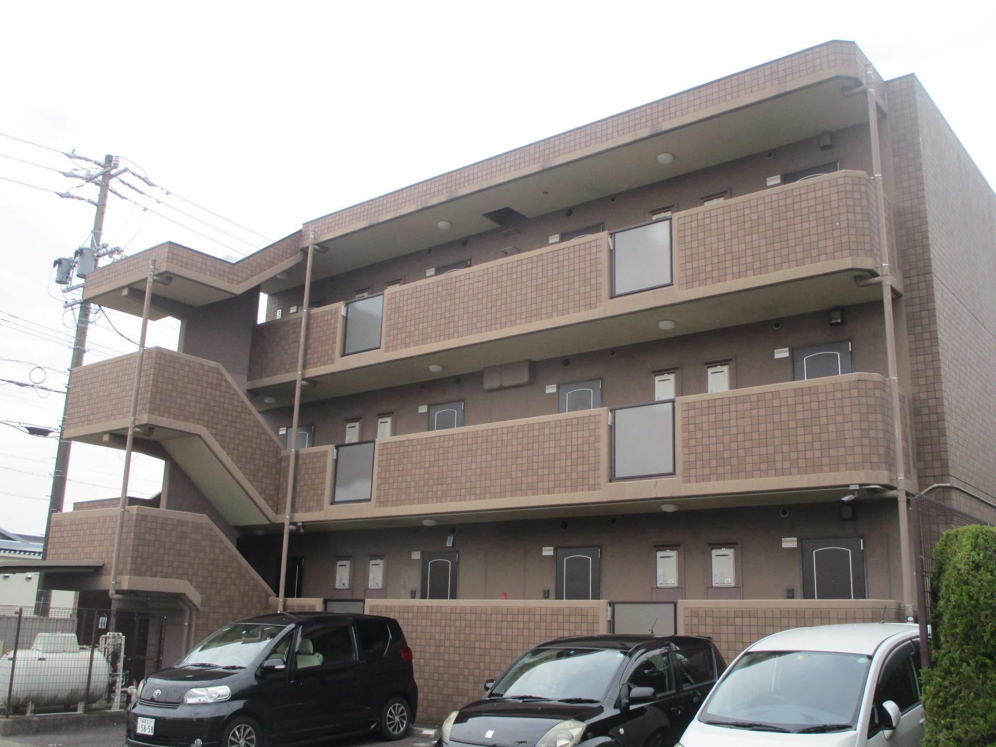 美浜町 Dマンション様 外壁塗装 屋上防水工事 (3)