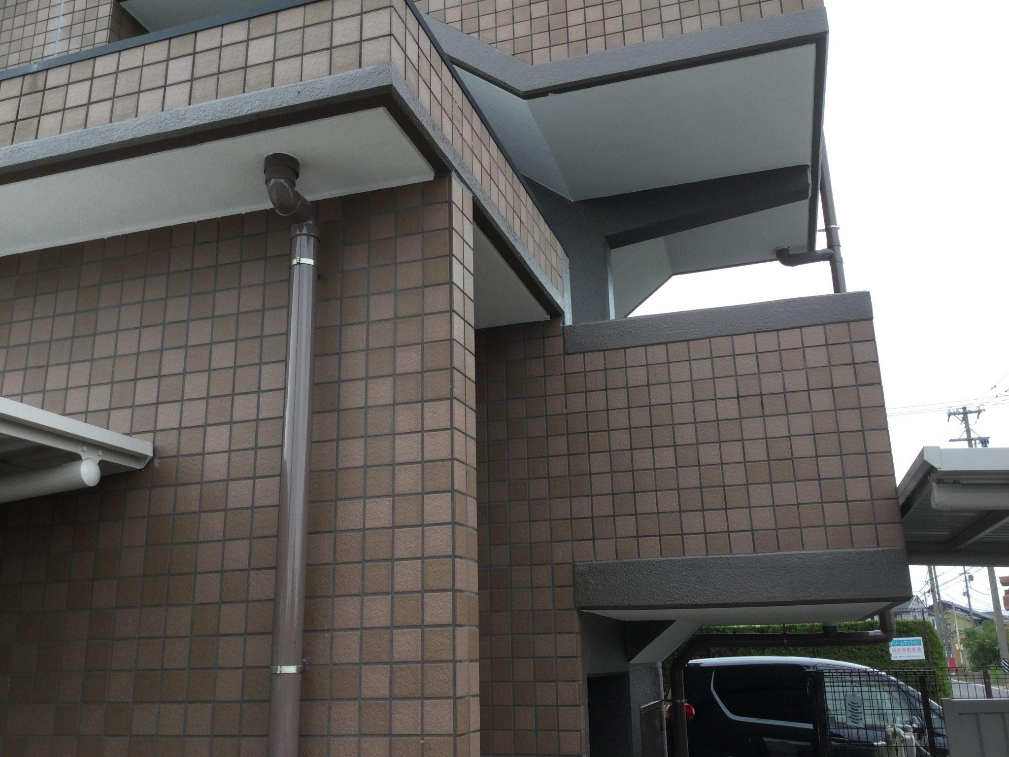 美浜町 Dマンション様 外壁塗装 屋上防水工事 (6)