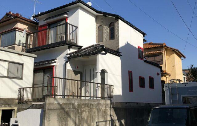 知多市 M様邸 外壁塗装・屋根漆喰・雨樋取替工事 (2)