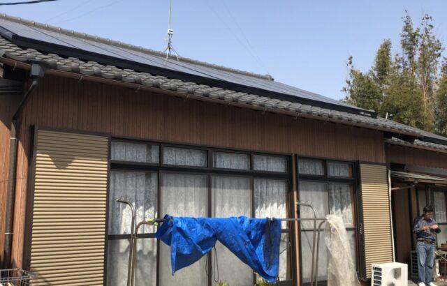 半田市T様邸 外壁塗装工事 (1)