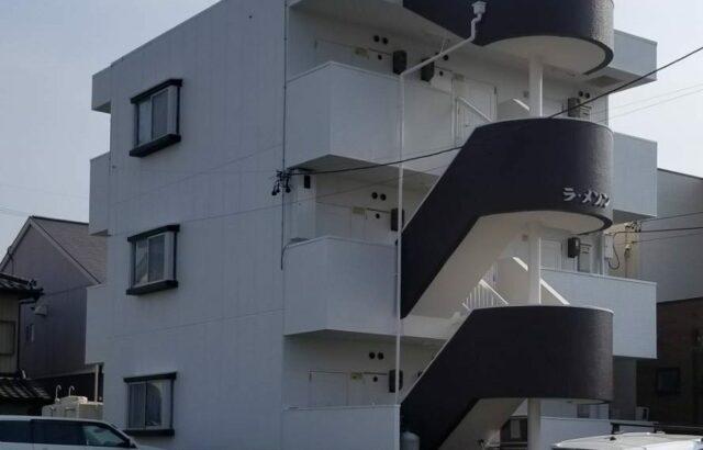 知多市 アパート 外装リフォーム工事 (2)
