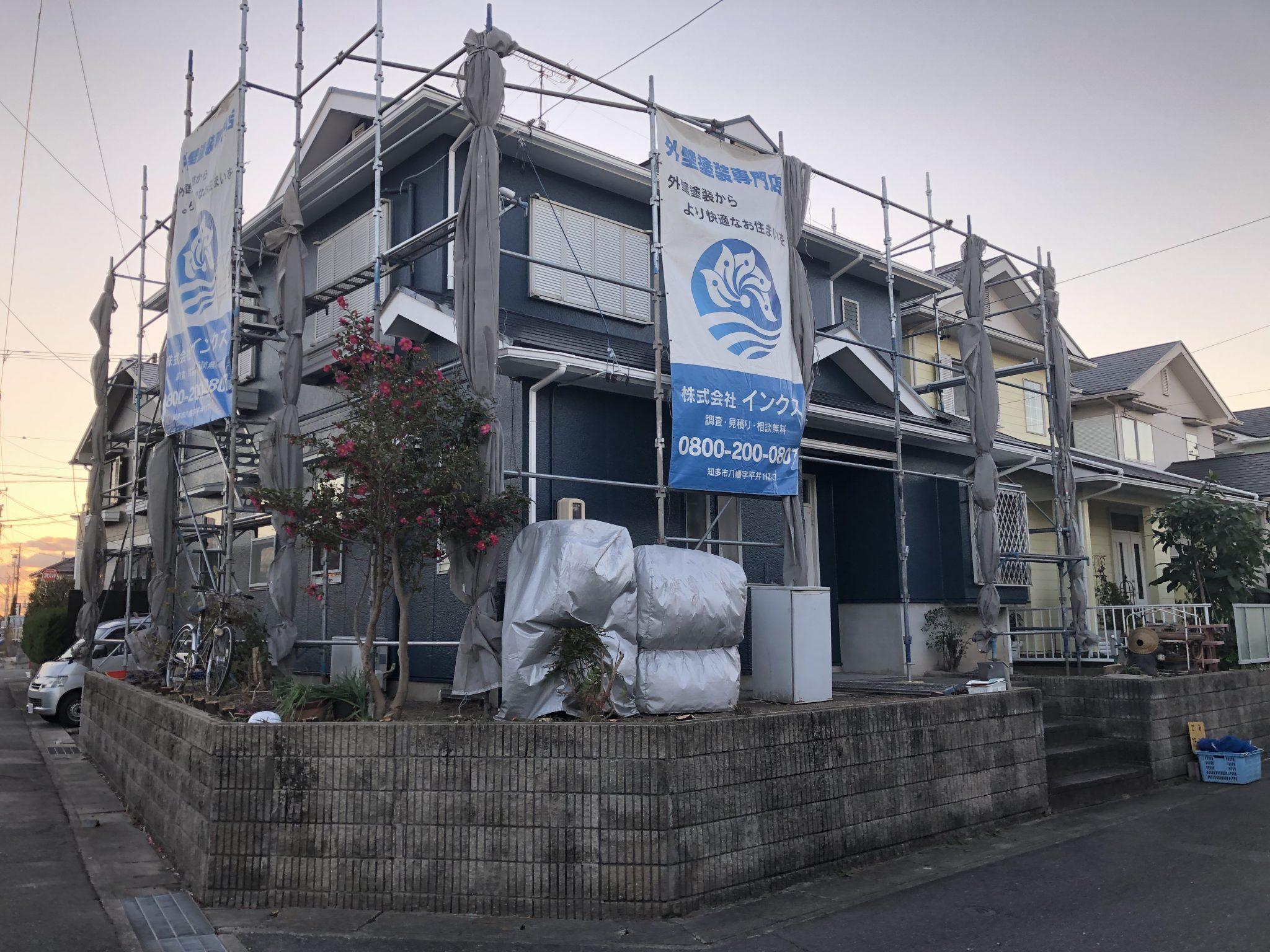 半田市 I様邸 外壁・屋根塗装 外構リフォーム工事 (4)