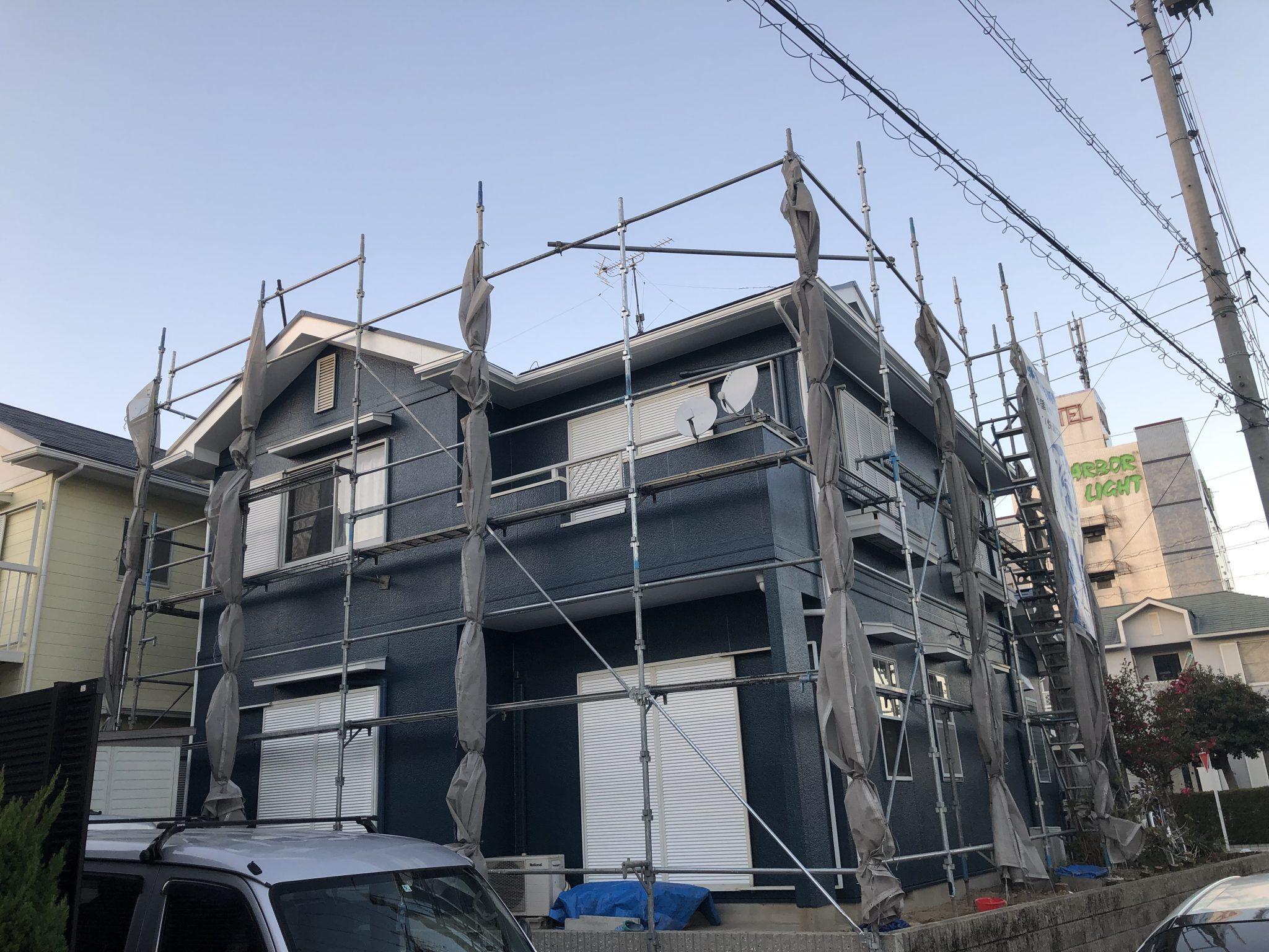 半田市 I様邸 外壁・屋根塗装 外構リフォーム工事 (5)