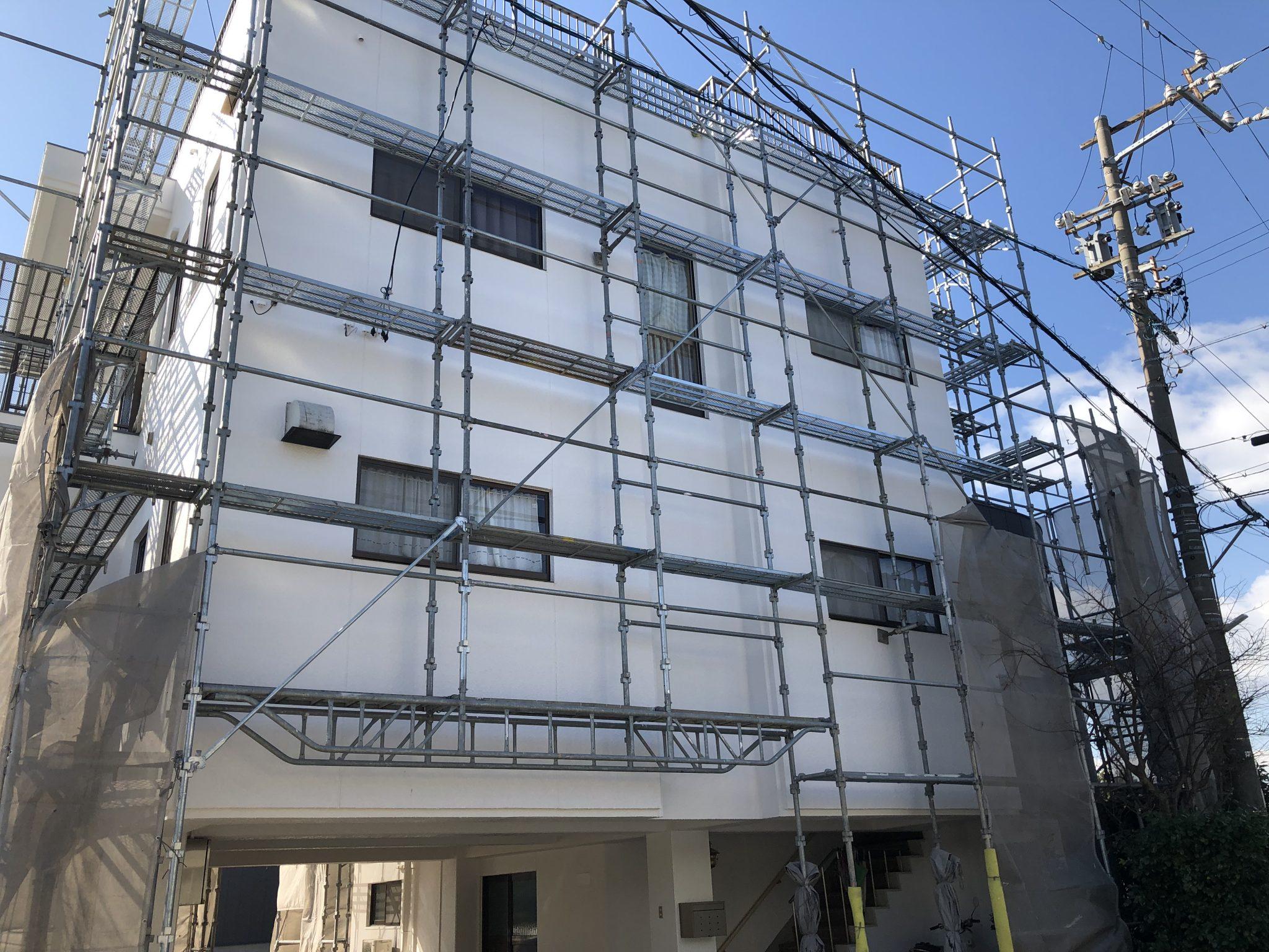 美浜町 I様邸 外壁塗装・屋上防水改修工事 (6)