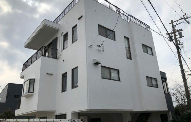 美浜町 I様邸 外壁塗装・屋上防水改修工事 (2)