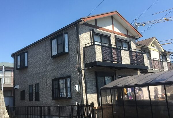 知多市 I様邸 外壁屋根塗装工事