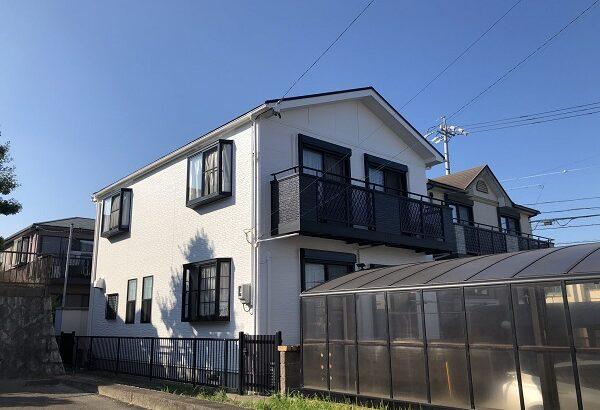 知多市 I様邸 外壁屋根塗装工事 (1)