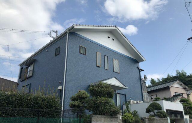 知多市 K様邸 外壁塗装工事 (2)