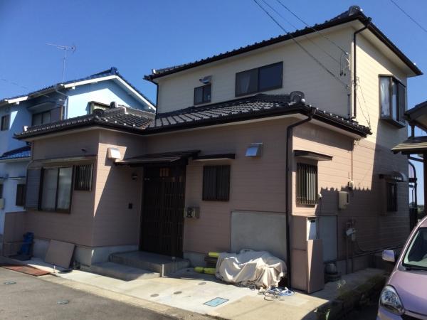 阿久比町I様邸 外壁塗装・屋根漆喰工事 (1)