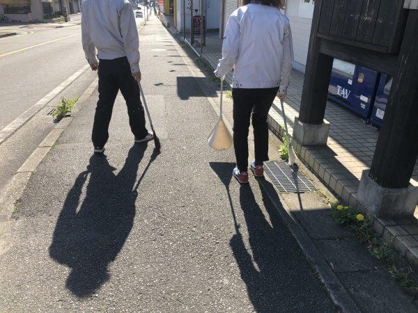 ☆街中清掃活動☆ (1)