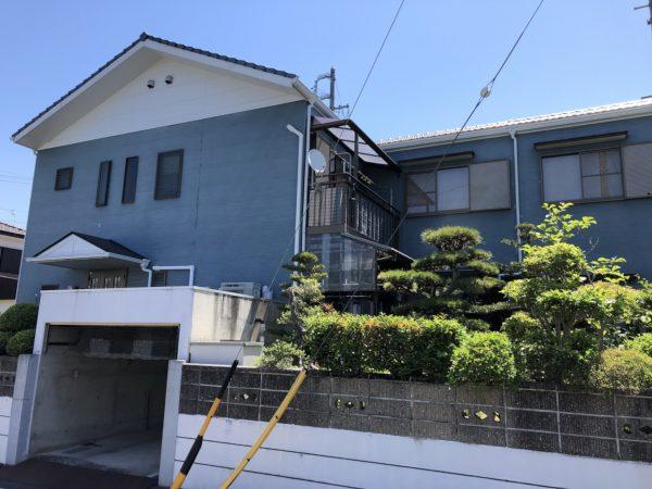 知多市日長・阿久比町 それぞれ塗装工事がスタートしております☆ (2)