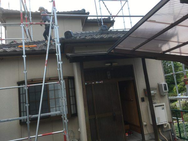 知多市日長・阿久比町 それぞれ塗装工事がスタートしております☆ (1)
