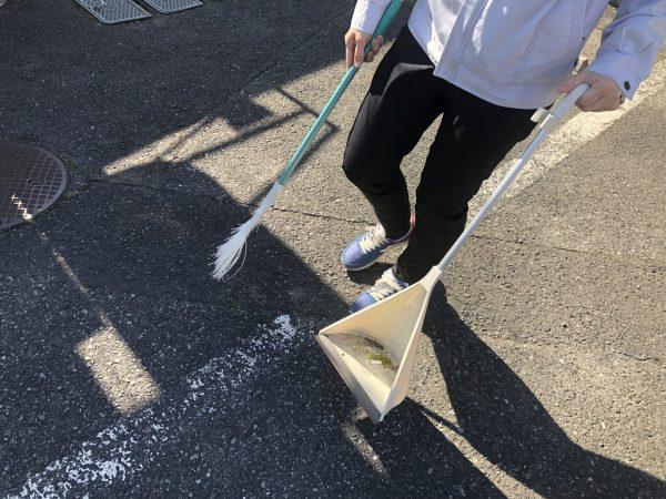 ☆街中清掃活動☆ (2)