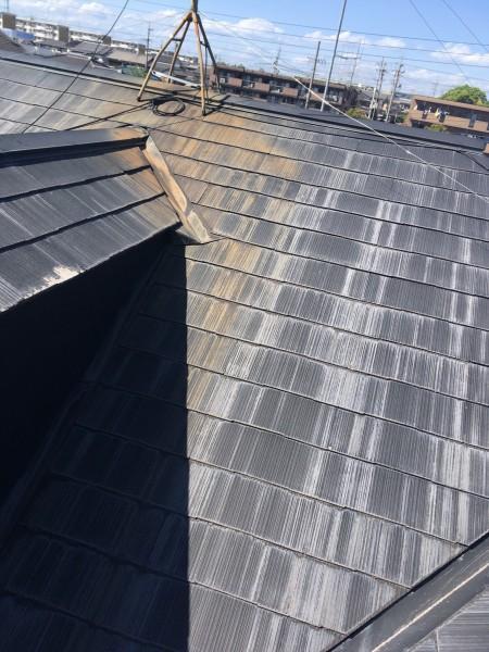 知多市 H様邸 屋根・付帯部塗装 ベランダ防水工事 (1)