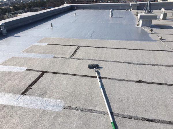 外壁屋根塗装・防水専門知多ショールーム 常滑市マンション施工中 (1)