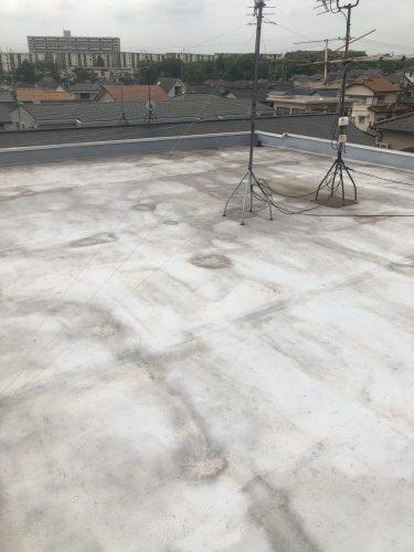 知多市 アパート 外壁塗り替え 屋上防水工事 (1)