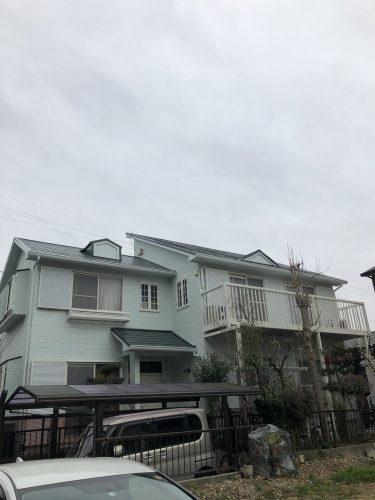 春日井市 N様邸 外壁・屋根 塗り替え 完了 (3)