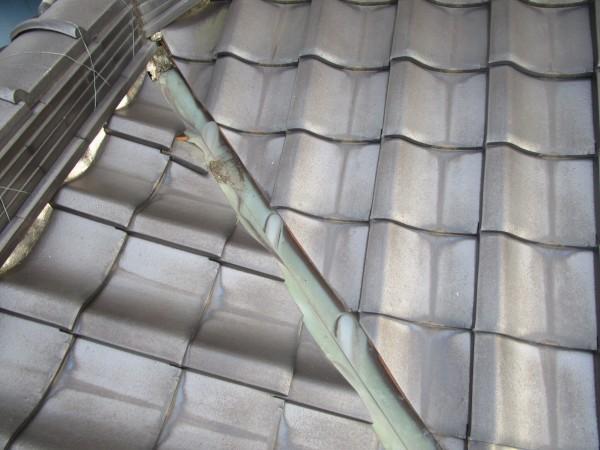 阿久比町にて外壁塗装・屋根漆喰、谷板交換工事 着工致しました。 (2)