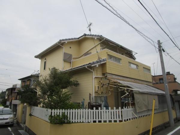 本年も宜しくお願い致します。 知多市A様邸 外装リフォーム工事 (1)