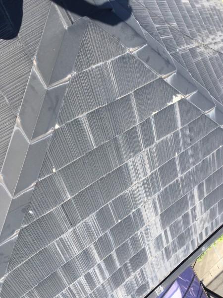 知多市 H様邸 屋根・付帯部塗装 ベランダ防水工事 (2)