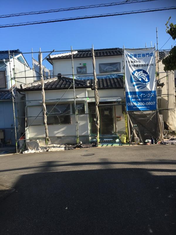 阿久比町 I様邸 外壁塗装工事 (1)