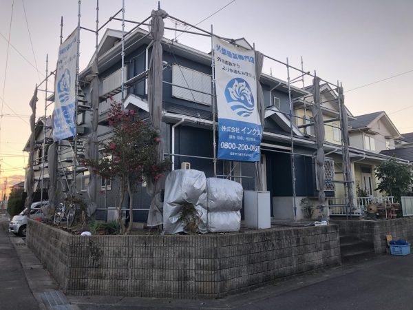 半田市 I様邸 外壁・屋根塗装 (2)