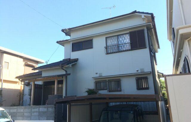 知多市 S様邸 外装リフォーム工事 (1)