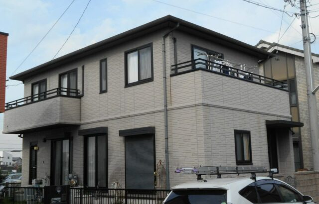 ☆東海市 O様邸 屋根・外壁塗装工事スタート!!