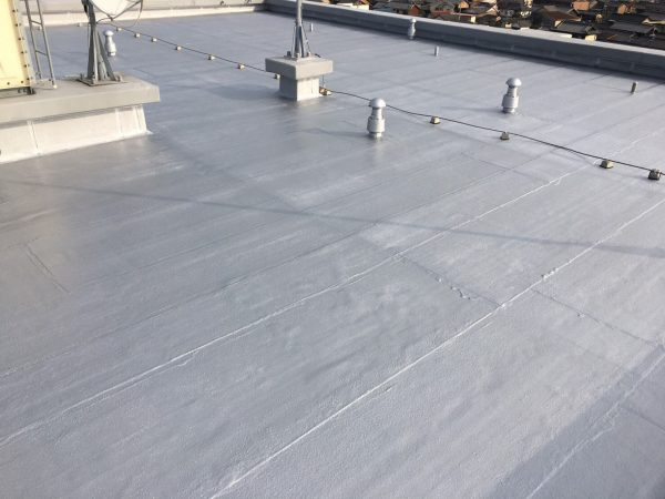 外壁屋根塗装・防水専門知多ショールーム 常滑市マンション施工中 (2)