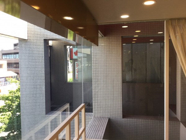 名古屋市千種区 美容院様 ガラス断熱塗装 (3)