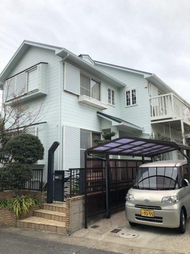 春日井市 N様邸 外壁・屋根 塗り替え 完了 (6)