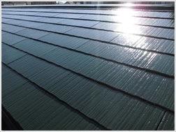 知多市にて屋根・付帯部塗装 ベランダ防水工事 成約いただきました (1)