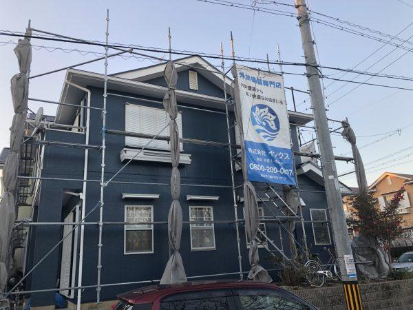 半田市 I様邸 外壁・屋根塗装 (3)