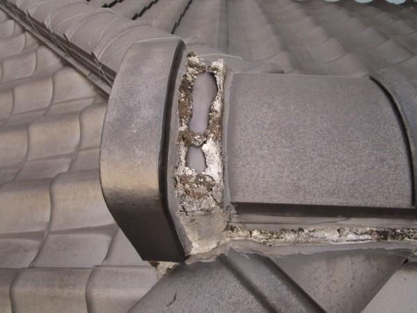 阿久比町にて外壁塗装・屋根漆喰、谷板交換工事 着工致しました。 (3)