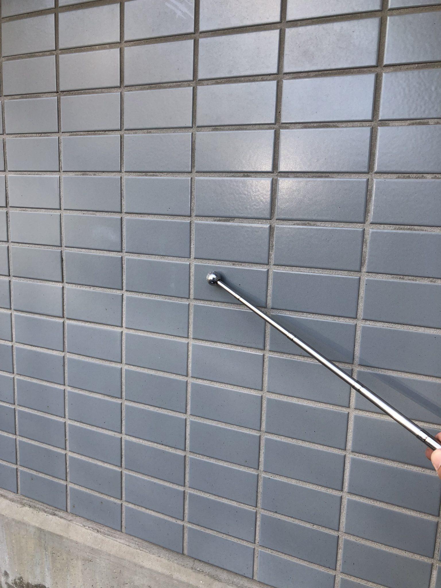 マンション外壁タイルの浮き 剥落の危険性 (1)