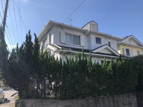 半田市 I様邸 外壁・屋根塗装 (1)