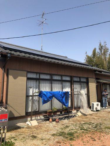 半田市 T様邸 外壁塗装工事 完了 (1)