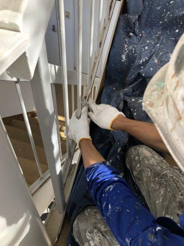 知多市 アパート 外壁塗装・屋上防水工事 (8)
