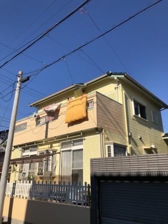 本年も宜しくお願い致します。 知多市A様邸 外装リフォーム工事 (2)