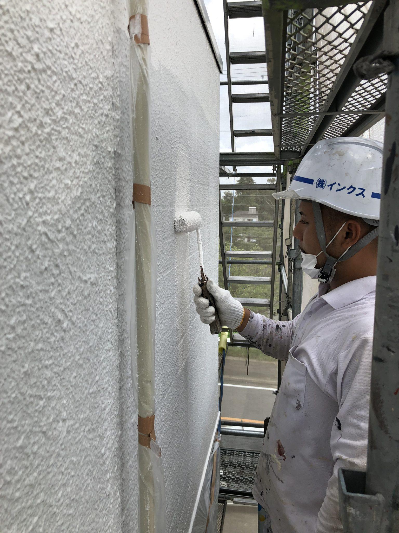 知多市 アパート 外壁塗装・屋上防水工事 (1)